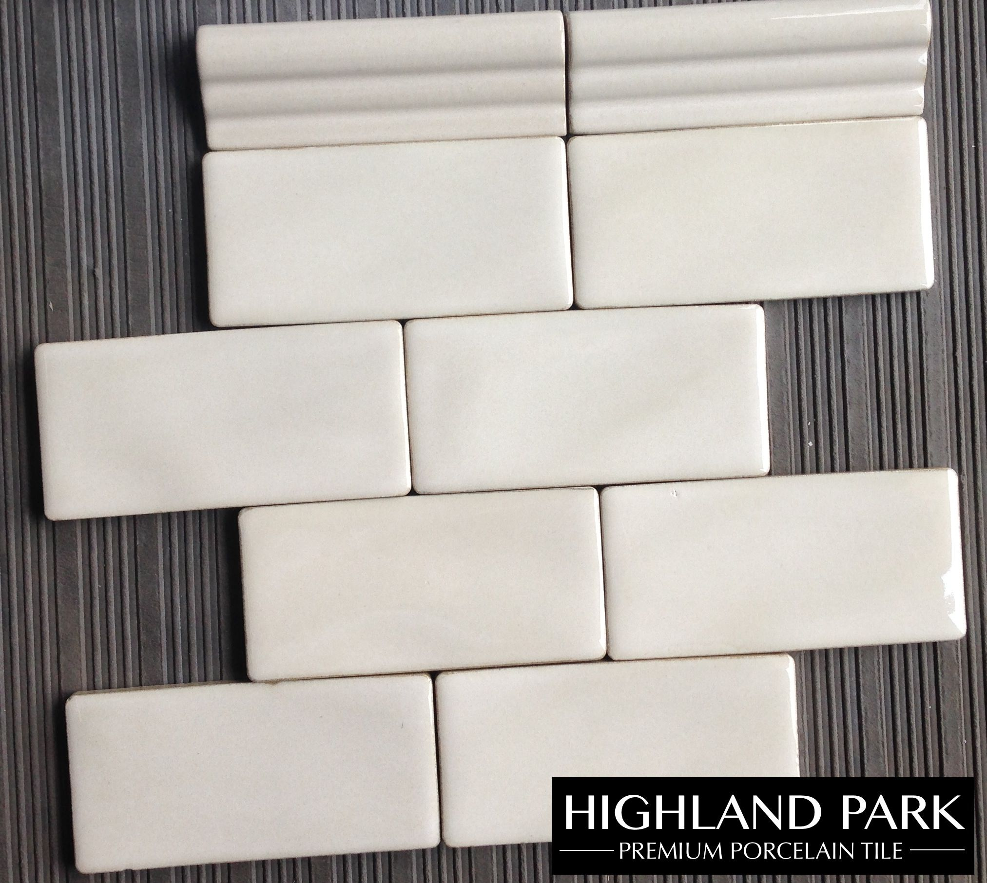 Handcrafted Antique White 3x6 Porcelain 8 50 A Square Foot Available Online From T White Ceramic Tiles Custom Cabinetry White Subway Tiles Kitchen Backsplash