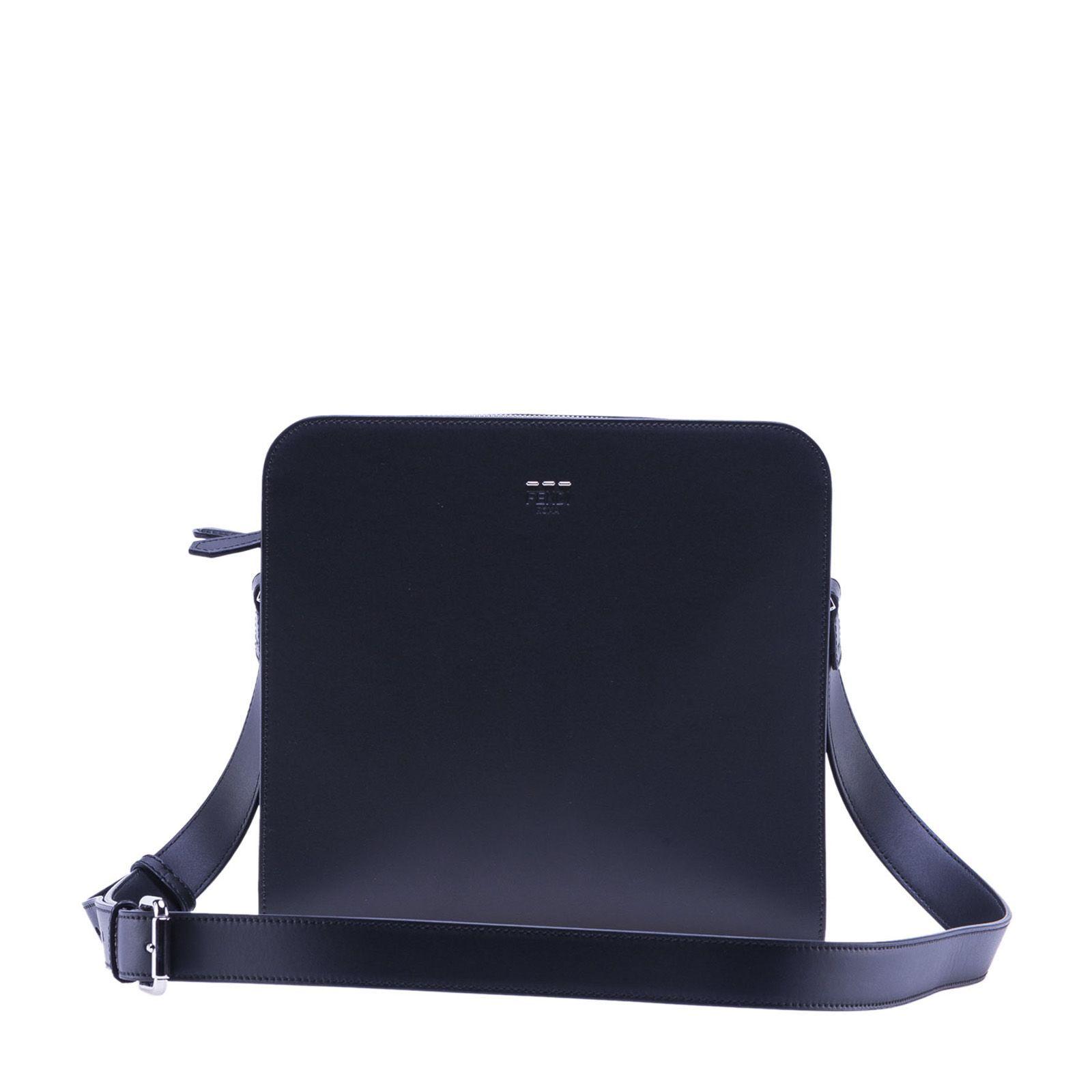 fdc2d1df72c7 FENDI FENDI CLASSIC MINI MESSENGER BAG.  fendi  bags  shoulder bags   leather