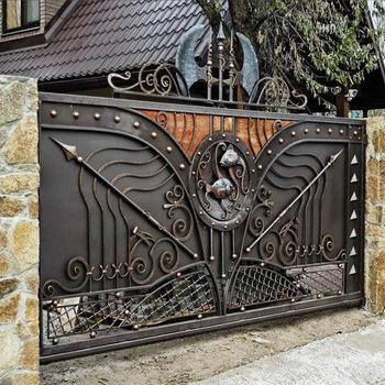 Alibaba Hot Sales House Iron Gate Design Steel Sliding Gate Hot Sale Steel Gate Buy Hot Sale Steel Gate Steel Main Gate Design Ir Eingangstor Eingang Tor