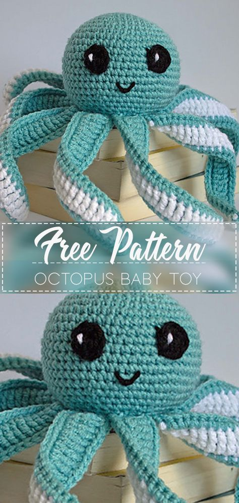 17 cute DIY knitting toys for babies #toysforbabies