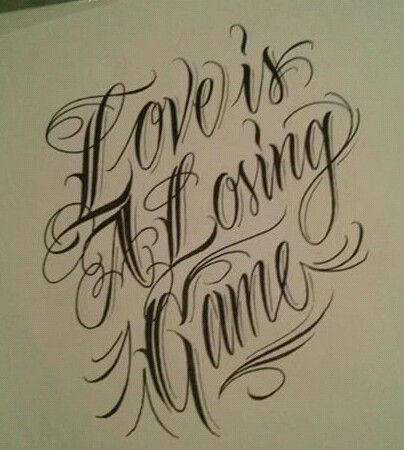 Chicano Lettering Lettering in 2018 Pinterest Letras tattoo - Letras Para Tatuajes