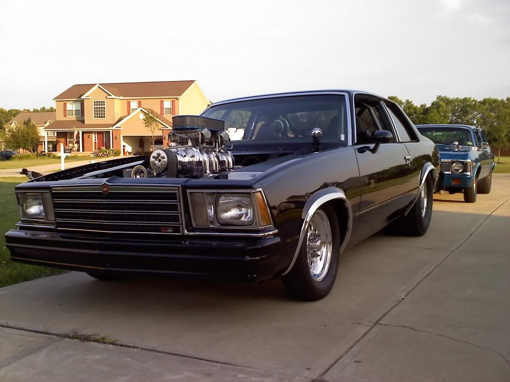 Blown Chevy Malibu Pro Street   Drag Cars/Pro Street Vehicles ...