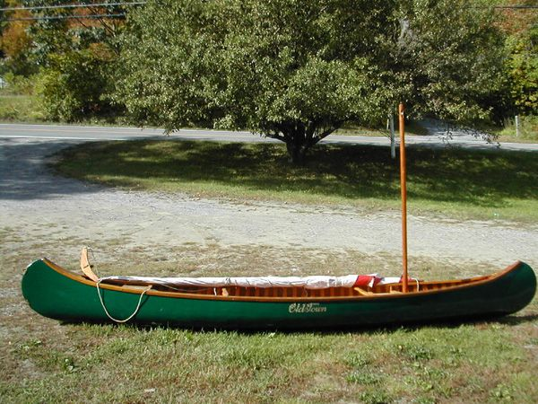 1935 Old Town 16 | Wood and Canvas Canoe | Canoe for sale