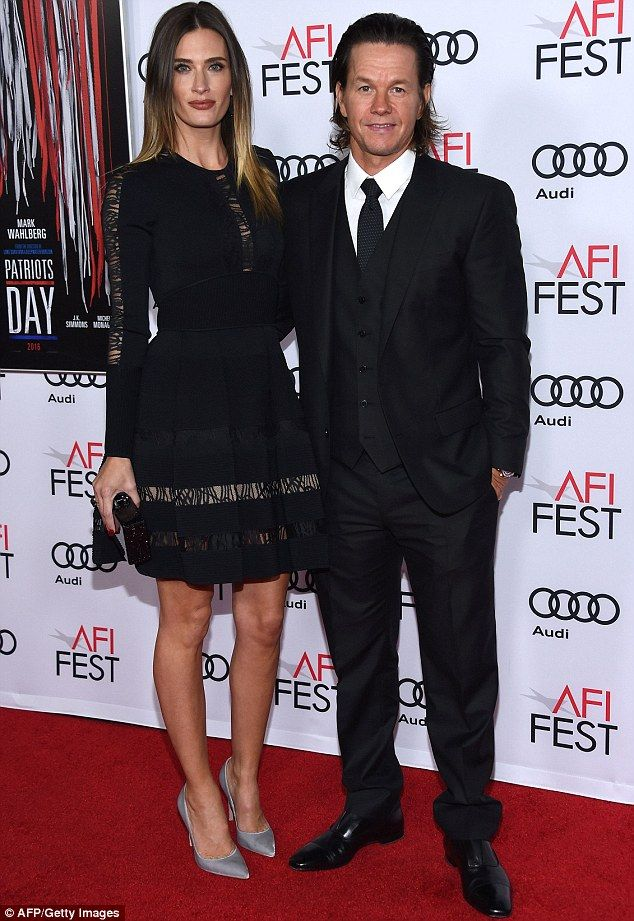 Mark Wahlberg Flaunts Long Locks As Michelle Monaghan Sparkles At