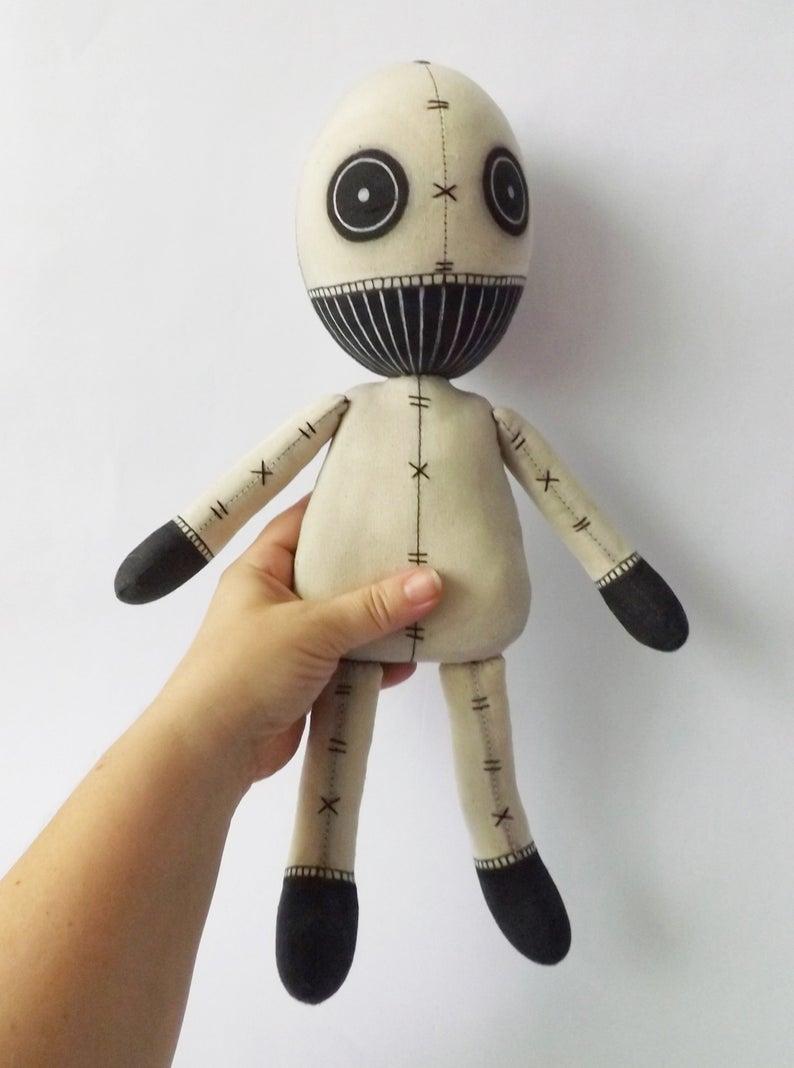 Revenge Voodoo Doll Handmade Art Doll Etsy Art Dolls Handmade Hand Art Drawing Fabric Art Doll