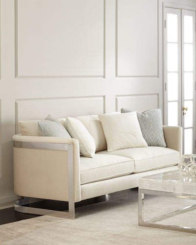 Regina Andrew Design Melanie Sofa #seat#polyester#Rayon ...