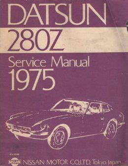 datsun 280z service manual 1975 datsun 280z pinterest cars rh pinterest co uk datsun 280z owners manual 1975 datsun 280z owners manual