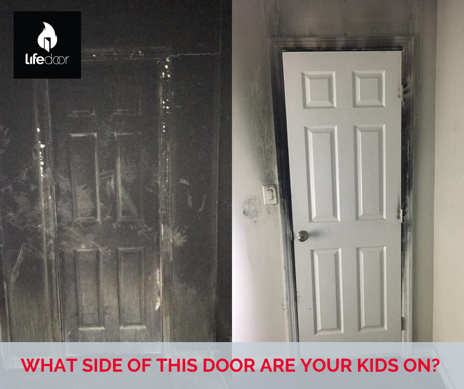 Protect your family from heat, flame and smoke. LifeDoor
