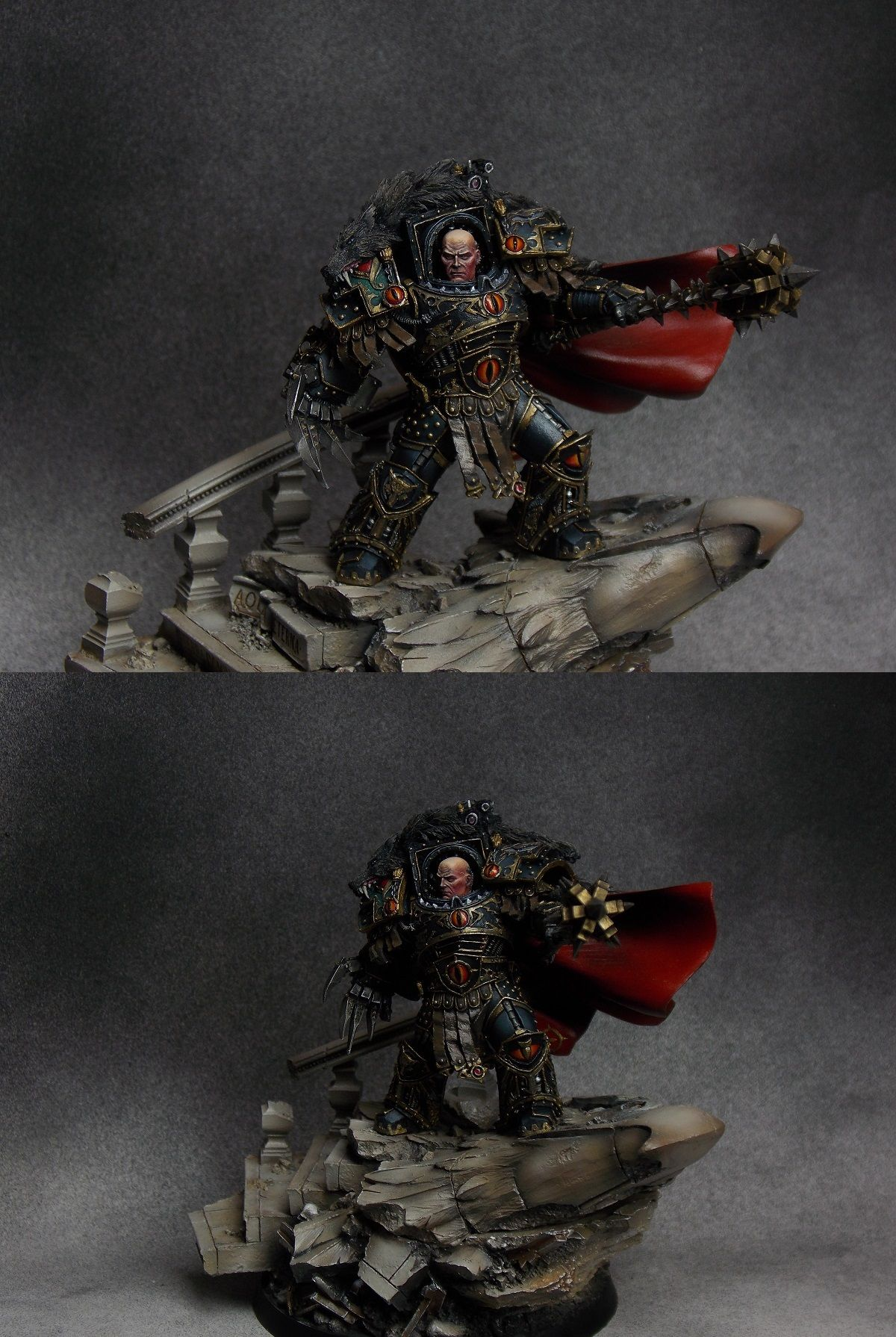 Horus, the Warmaster Primarch of the Sons of Horus. | Sons ...  Horus, the Warm...