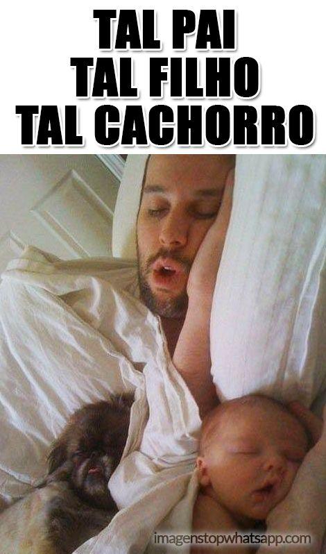 Imagem Para Whatsapp Engracadas Tal Pai Tal Filho Funny