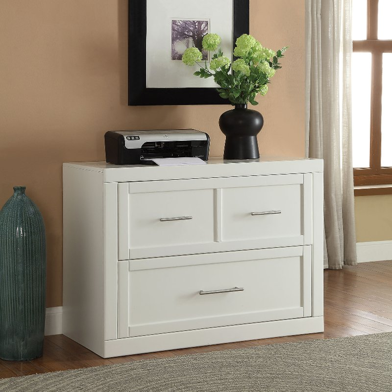 Modern White 2 Drawer Lateral File Cabinet Catalina In 2020 Filing Cabinet Lateral File Cabinet Parker House