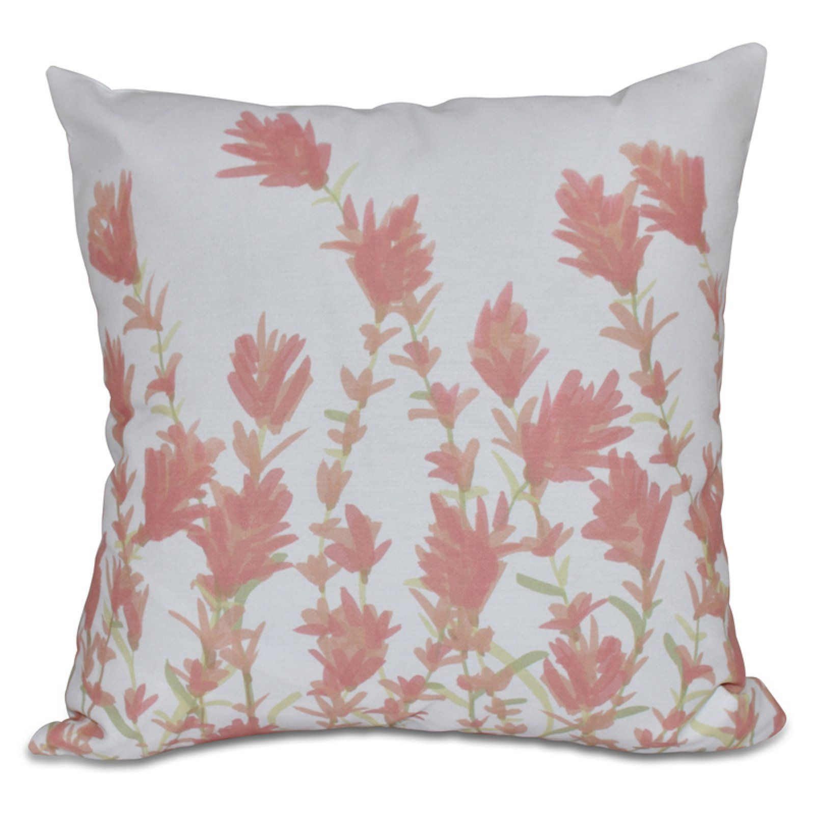 E By Design Botanical Blooms Lavender Decorative Pillow In 2020 Floral Throw Pillows Floral Pillows Lavender Pillows