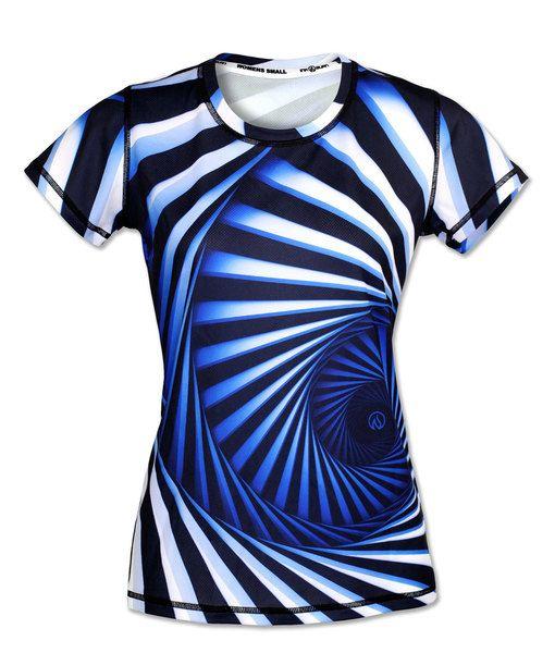 Women S Hypnotic Tech Shirt With Images Tech Shirt Shirts