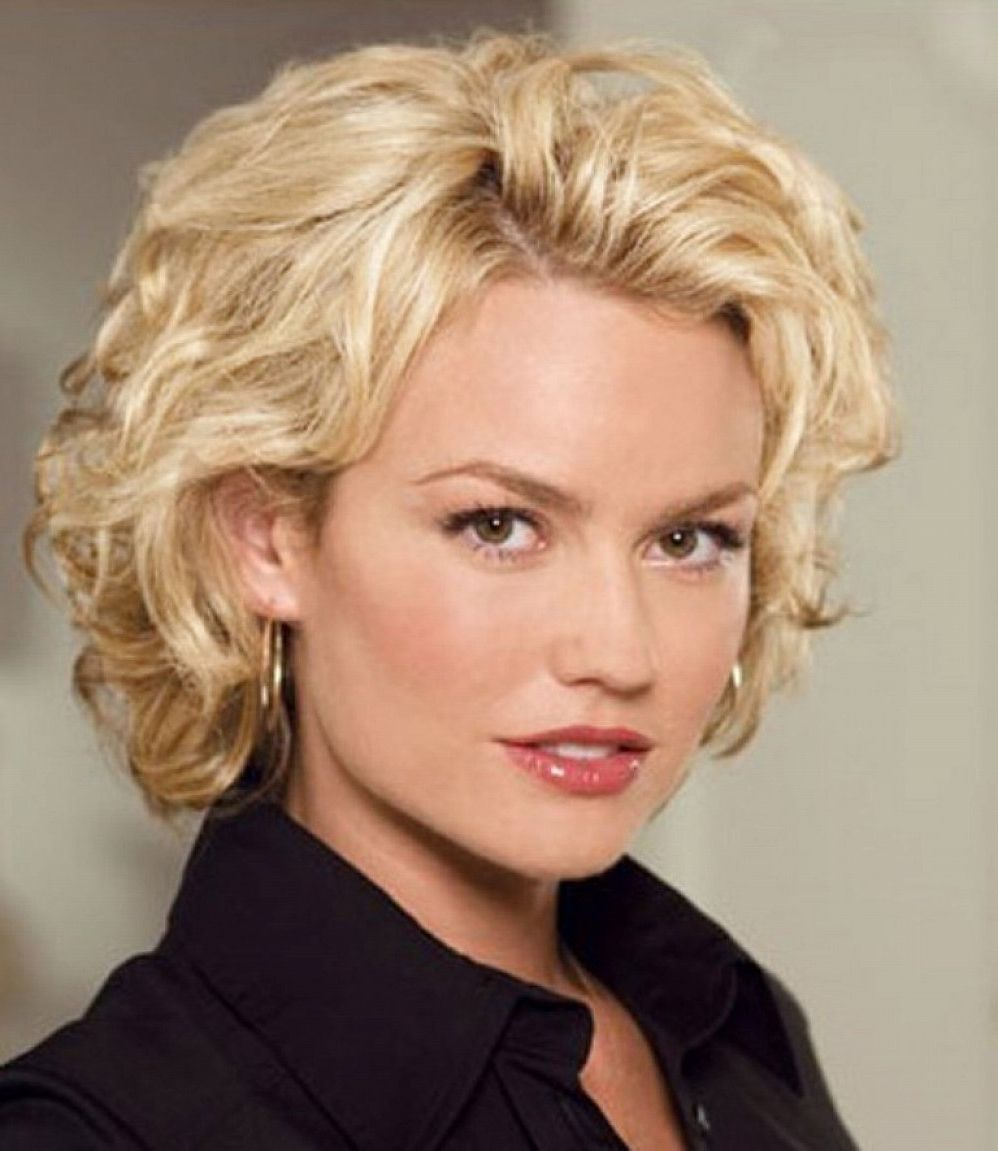 hairstyles for women over 50 with curly hair - women haircuts and