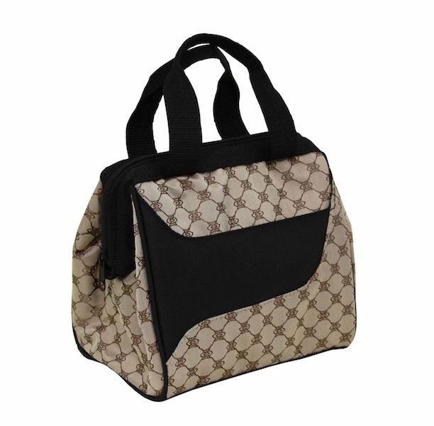 Designer Lunch Bag, Cocoa