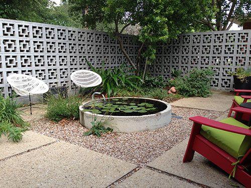 Redenta S Modern Landscape Garden Design Dallas Fort Worth Modern Landscaping Modern Landscape Design Easy Landscaping
