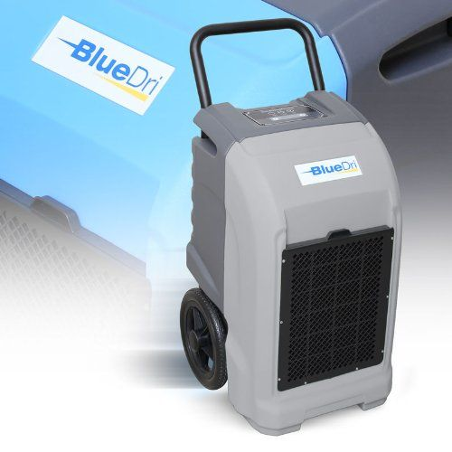 BlueDri® BD-76P Commercial Industrial Dehumidifier 150 Pints Per Day Water Extraction (Grey) - List price: $1,595.00 Price: $989.00 Saving: $606.00 (38%)