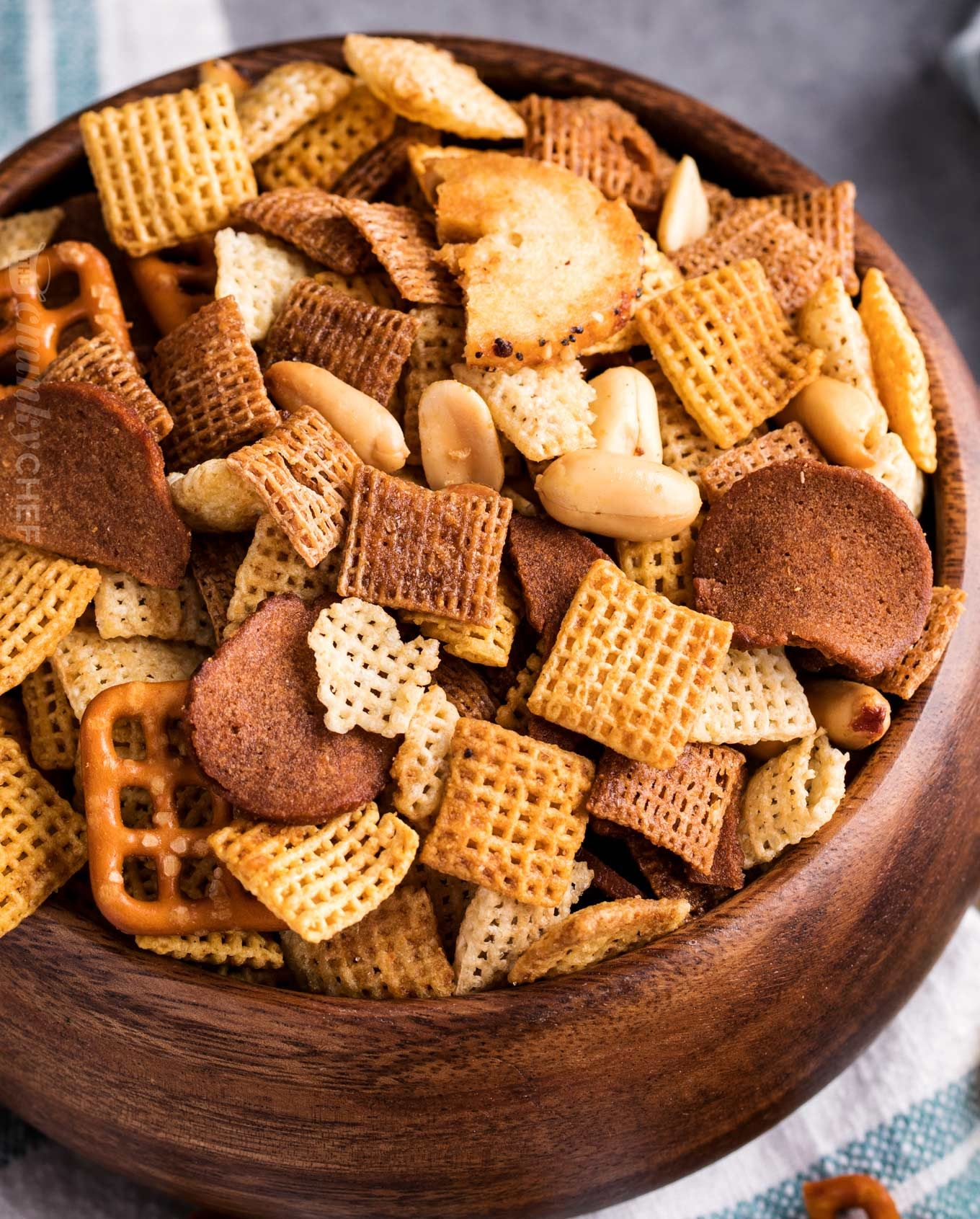 Always A Crowd Pleaser, This Bold And Zesty Chex Mix