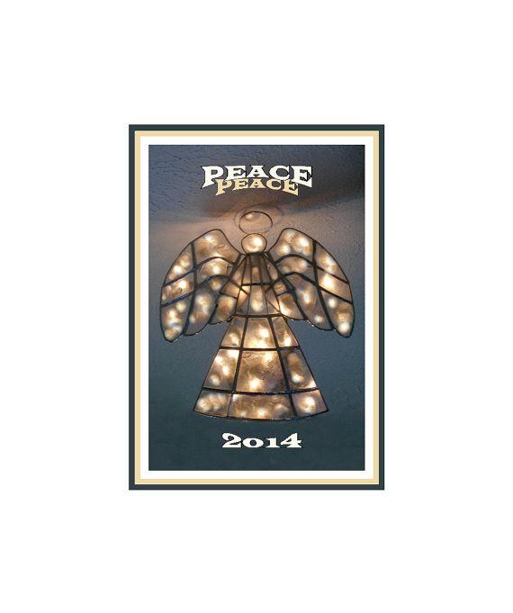 Angel Of Peace Poster 2014 Celebrate / New by LovesParisStudio, $10.00