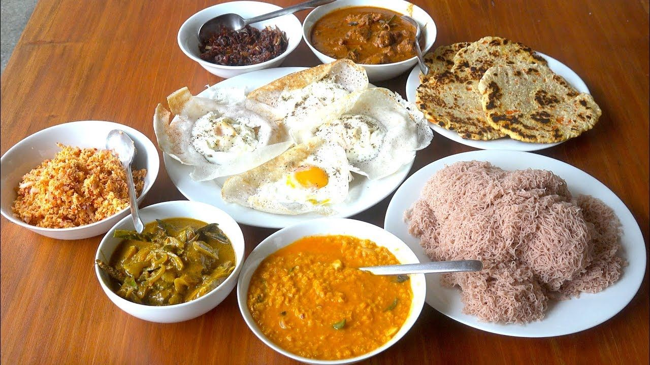 Sri Lanka Day 7 Sri Lankan Breakfast Hoppers Roti Sri Lanka H Recipes Food Seafood Recipes