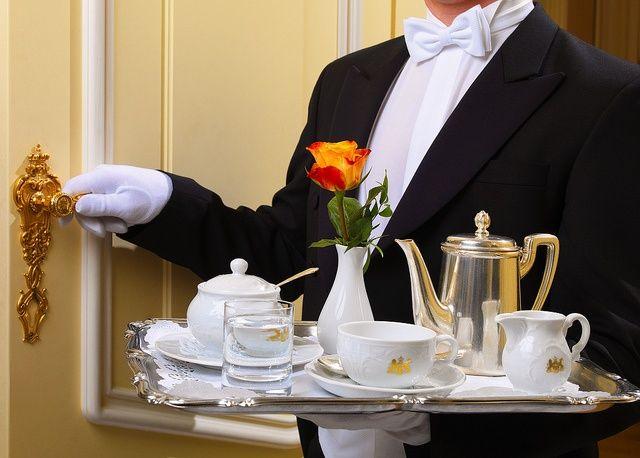 Butler service | Breakfast in bed, Luxury, Butler service
