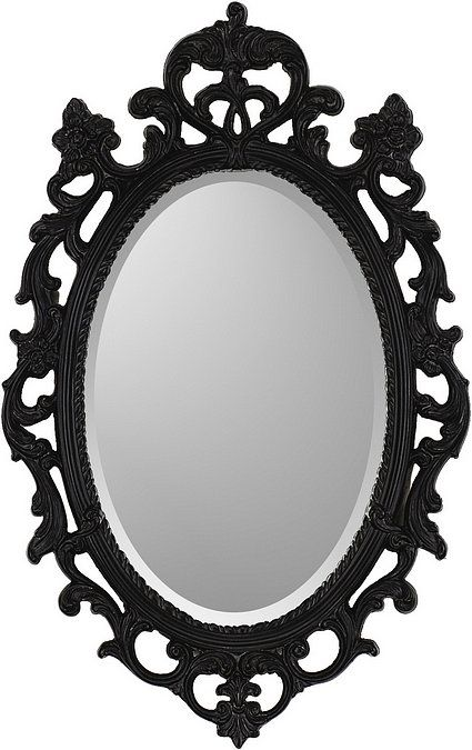 Ornate Black Mirror With Images Traditional Wall Mirrors Ornate Mirror Mirror Wall
