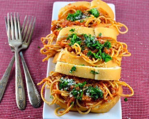 Murrays Spaghetti Sandwiches Recipe - Food.com