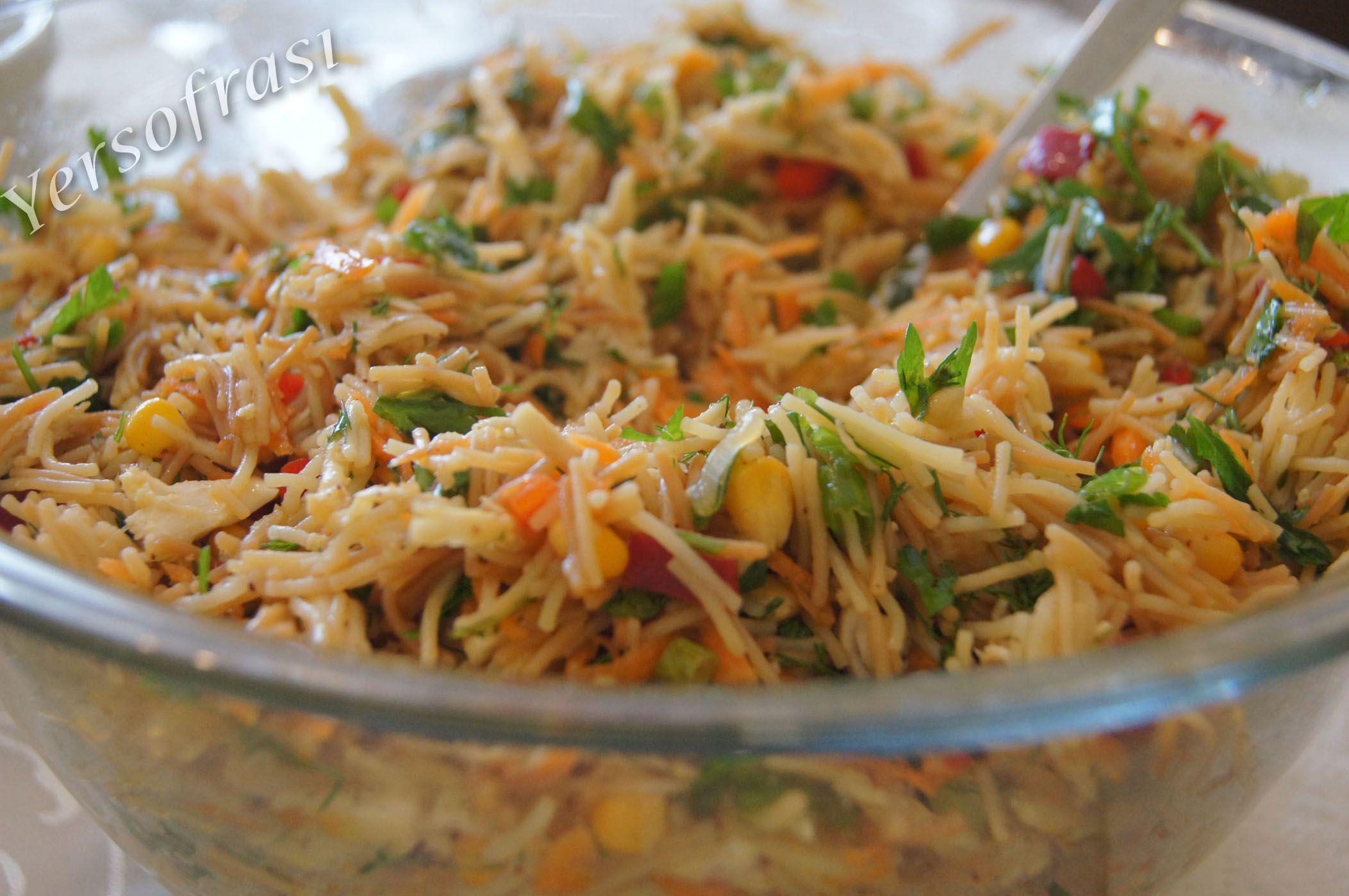 Tavuklu Arpa Şehriye Salatası Videosu