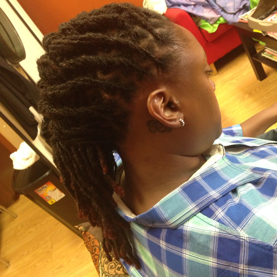 Styled mohawk nails pinterest mohawks and dreads