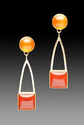 Yumi Ueno Art Jewelry & Metal : Jewelry Gallery : Earring