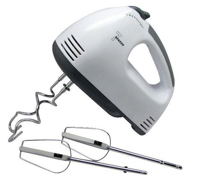 Electric Hand Mixer 7 Speed Egg Beater with Accessories Kitchen Tool