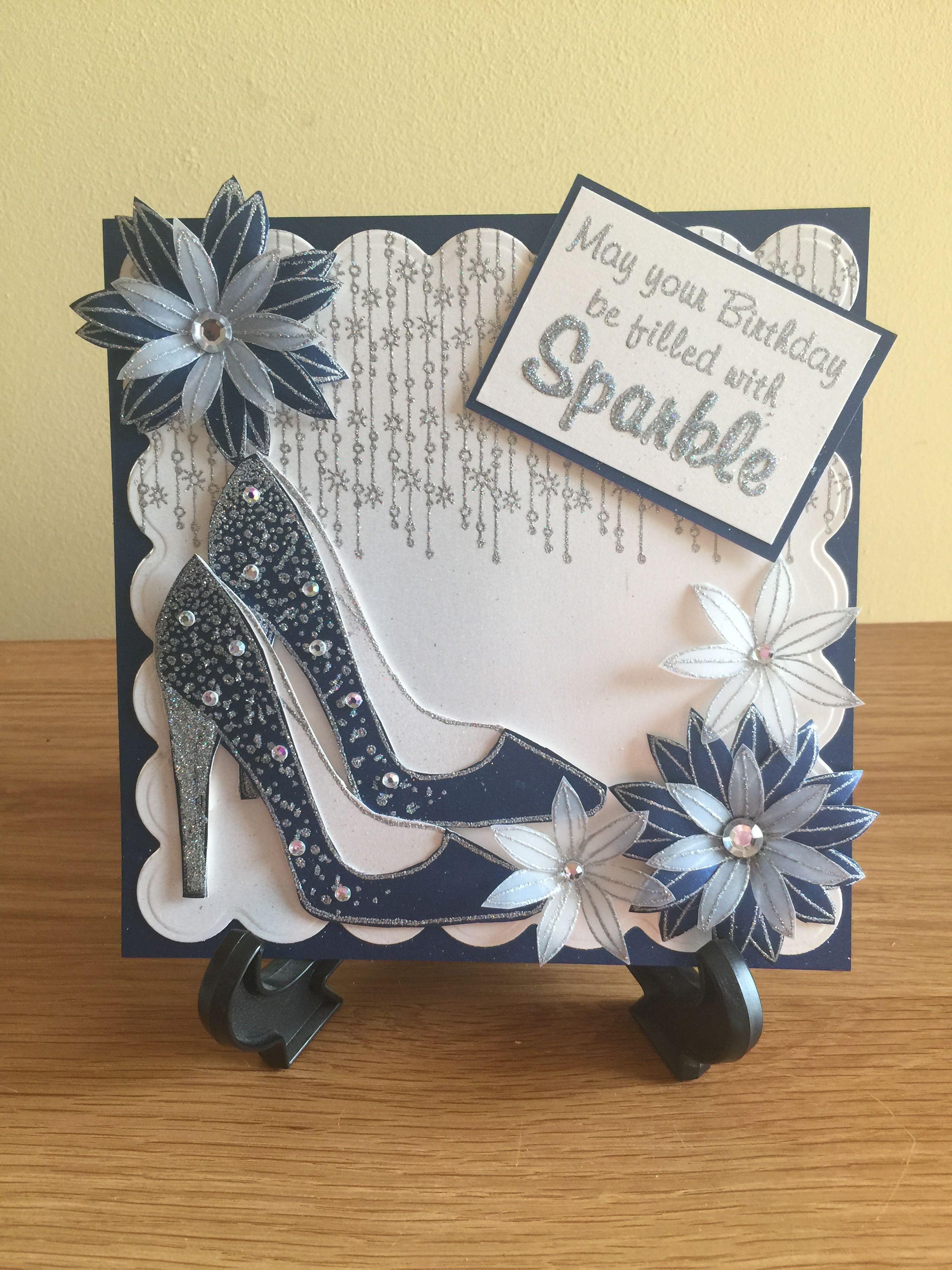 Lovely female birthday card scrapbooking pinterest cards