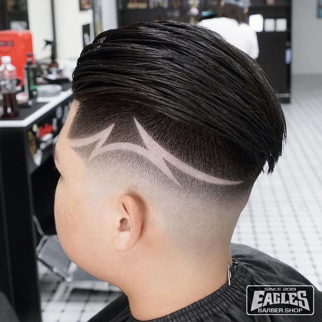Eagles Barber Shop Eagles Barbershop Hk Instagram Fotos Und Videos In 2020 Haircut Designs Gents Hair Style Mens Hairstyles Thick Hair