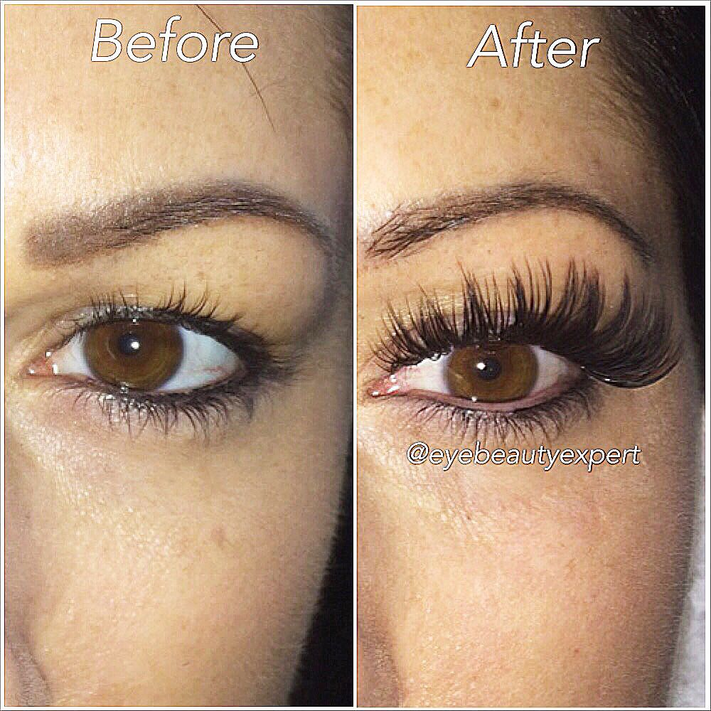 e1c45571367 Before and after photo of individual mink eyelash extensions  #eyelashextensions #torontomakeupartist #minkeyelashextensions  #lashextensions #lashaddict ...