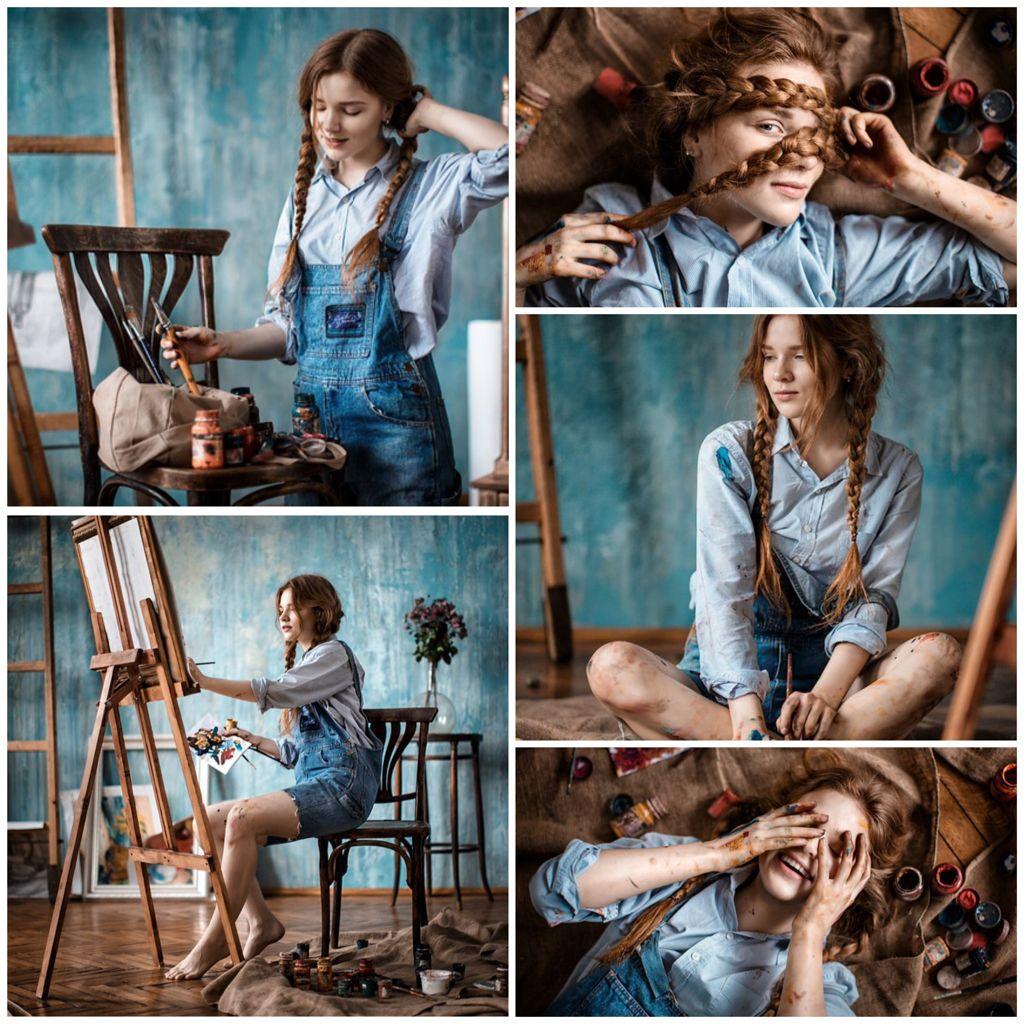 By Sofiya Lebedeva Painter Photography Paint Photography Artist Aesthetic