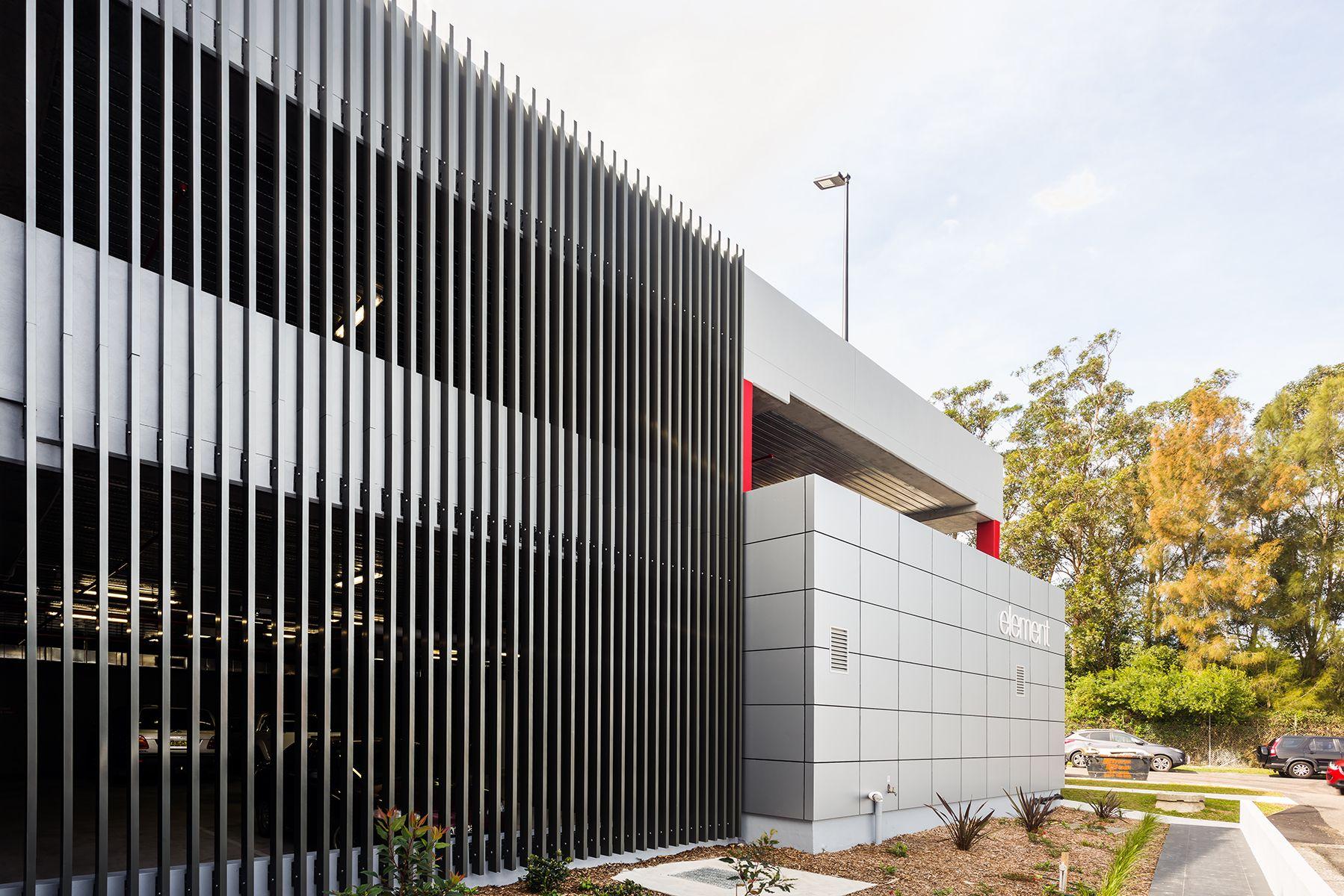 Elements Commercial Louvreclad Pty Ltd Parking Design Facade Design Parking Building