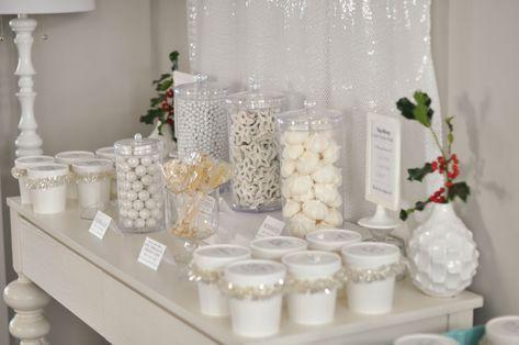 Super Baby Shower Food Bar Winter Wunderland Ideen   – Isla's 1st Birthday