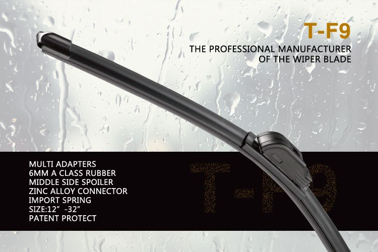 The Detail Of TF9 Multifunctional Flat Wiper Blade