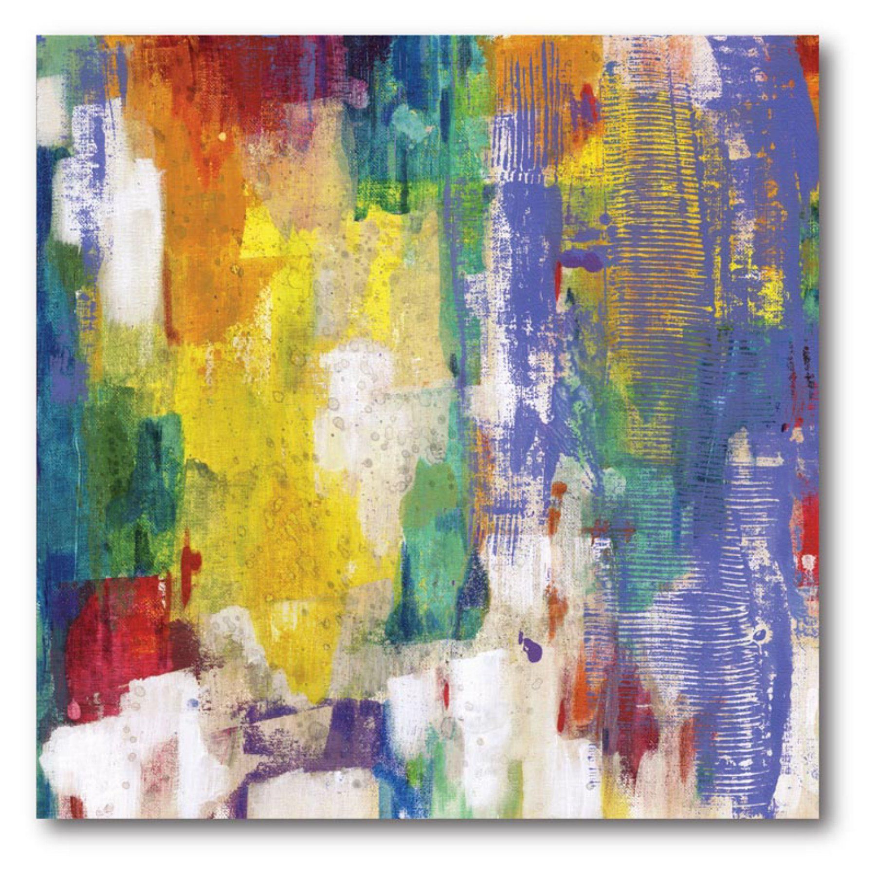 Colors Canvas Wall Art - 16W x 16H in. - WEB-AC113 | Canvas walls ...