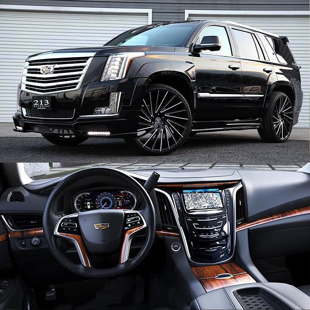 Repost Via Instagram: Blacked Out 2016 Escalade On