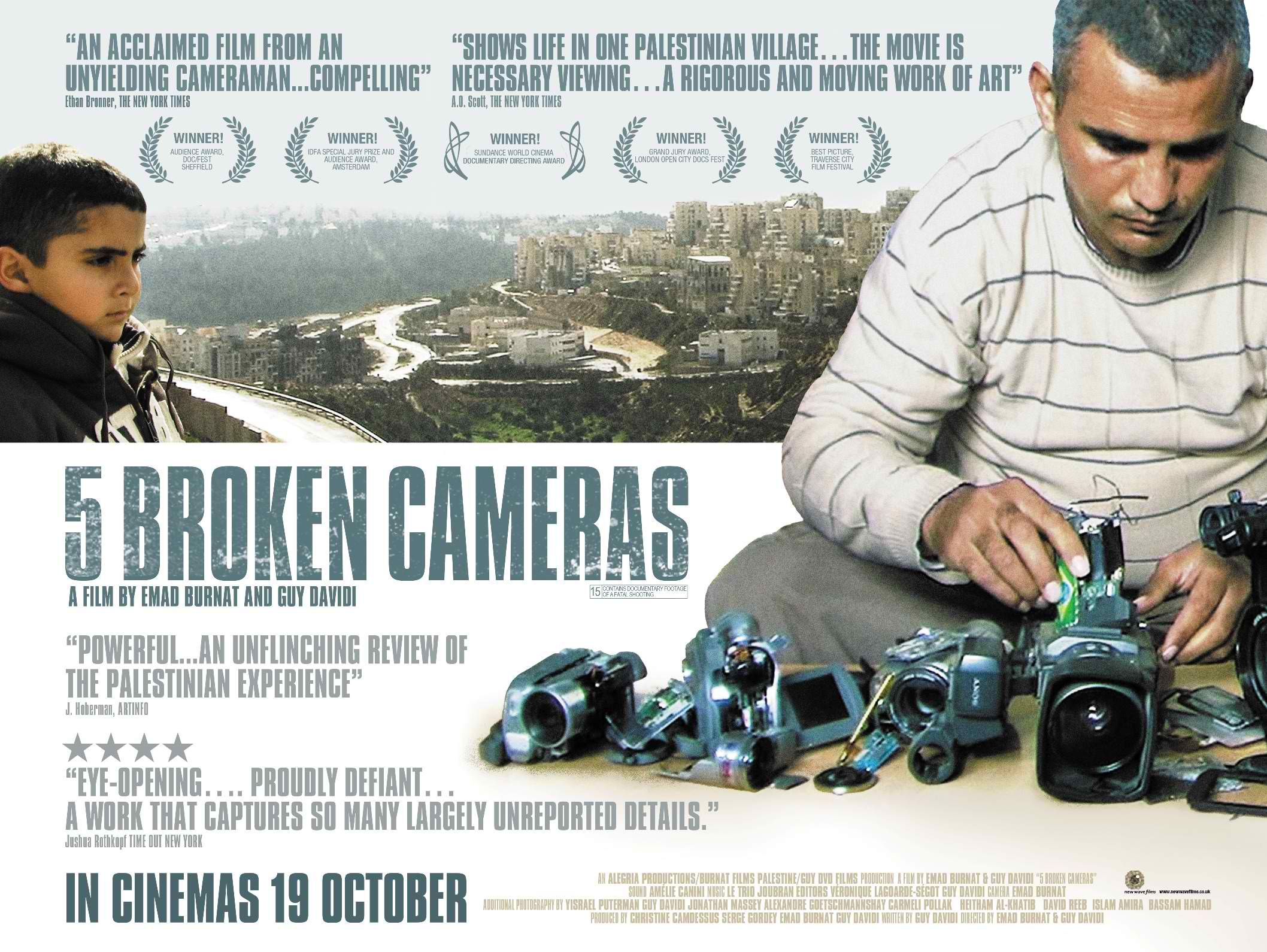 5 Broken Cameras An Extraordinary Work Of Both Cinematic And Political Activism 5 Broken Cameras Is A Deeply Perso Documentaries Best Documentaries Netflix