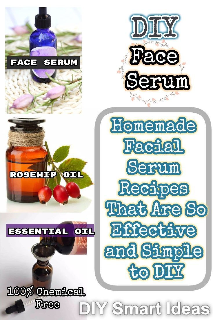 Simple to Make Homemade Face Serum Recipes for All Skin Types #homemadefacelotion Do not confused by the commercial skin care advertisements, the recipes to make homemade face serums are very easy and could work better than the store-bought #faceserumrecipes #diyfaceserum #homemadefaceserum #faceserum