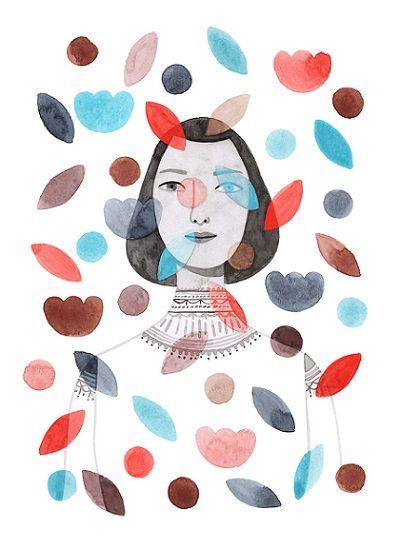 Monica Garwood, Botanical Crop. La templanza de las mujeres en las ilustraciones de Monica Garwood.