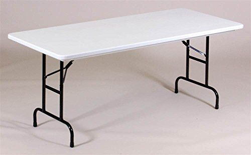 Amazon Price Tracking And History For Adjustable Height Folding Table R Series Plastic 30 In X 60 In Mocha Granite Short B008mb7d0e Folding Table Grey Granite Table