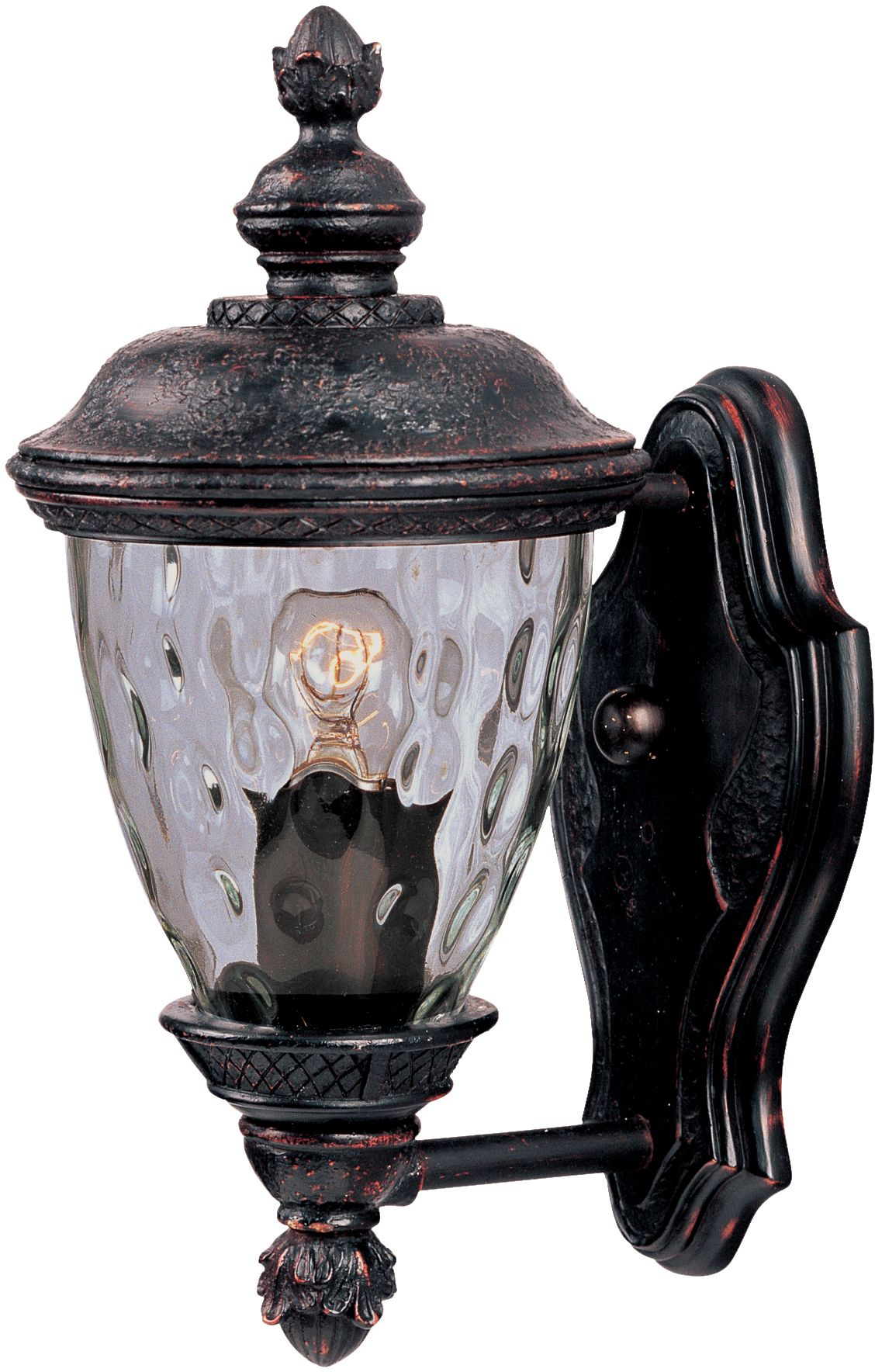 #One#Light#Oriental#Bronze#Water#Glass #Wall#Lantern http://lightingzoo.com/brand-maxim/one-light-oriental-bronze-water-glass-glass-wall-lantern/3495wgob/sku-DNC4