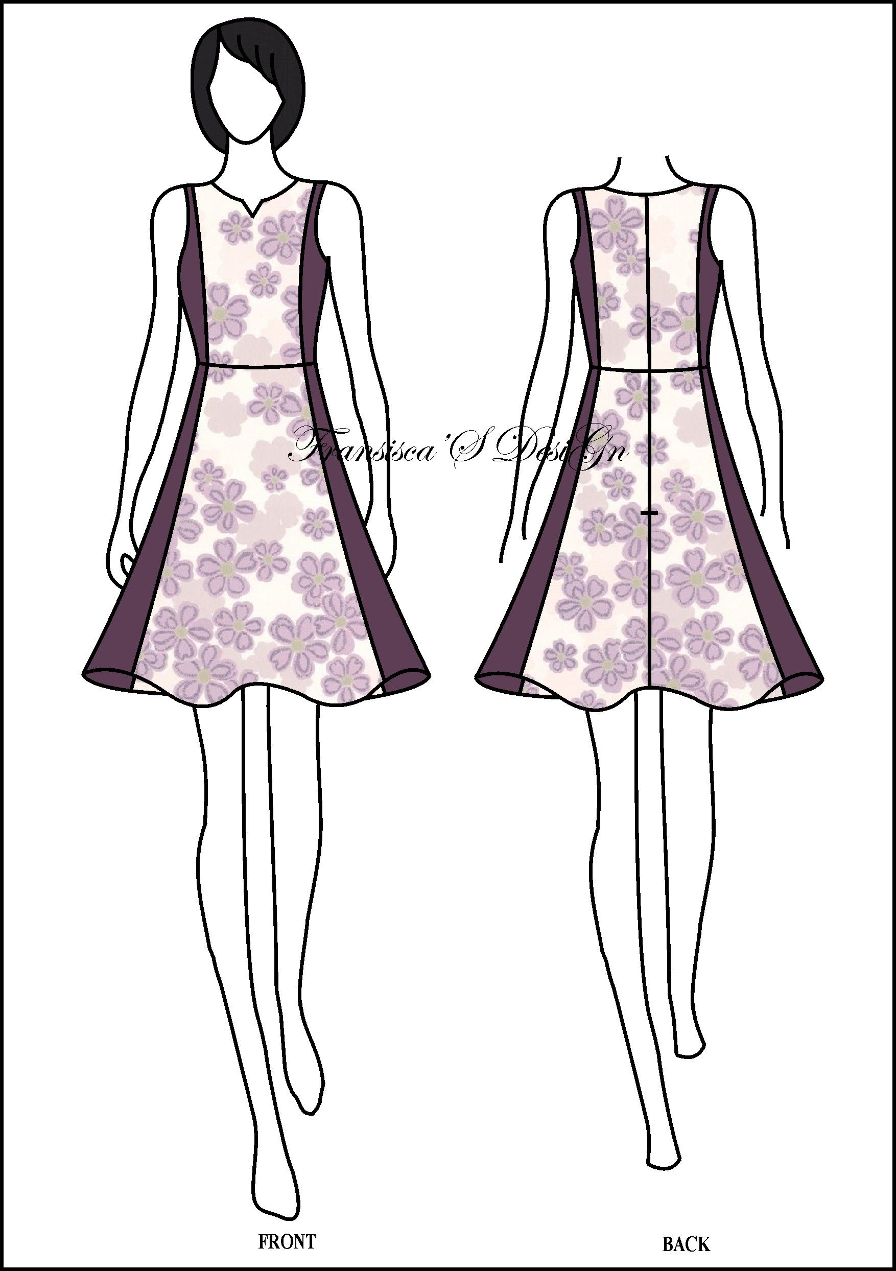 Dress Klok Pias Kombinasi Fashiondesigner Butik Onlineshop