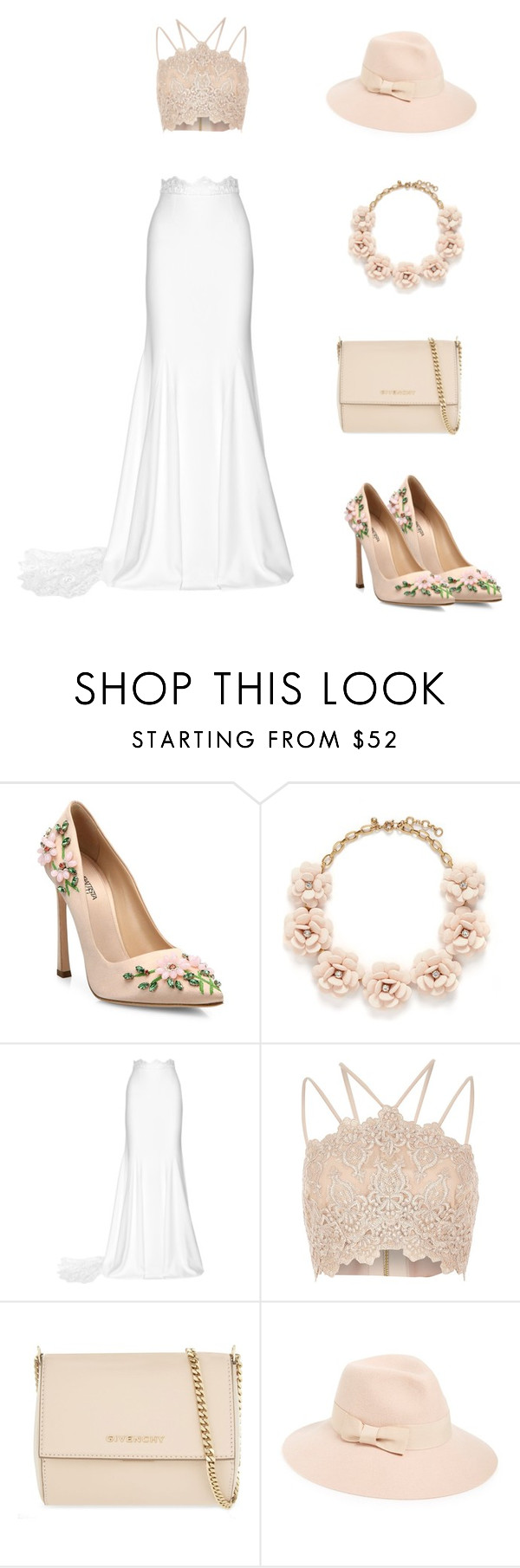 """""""16"""" by mivaldal on Polyvore featuring Giambattista Valli, J.Crew, Rime Arodaky, River Island, Givenchy and August Hat"""