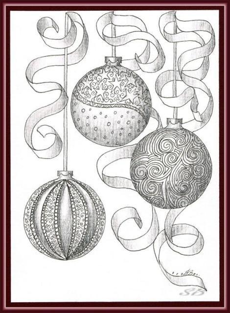Weihnachtskugeln Und Eine Zauberhafte Weihnachtsrobbe Things To