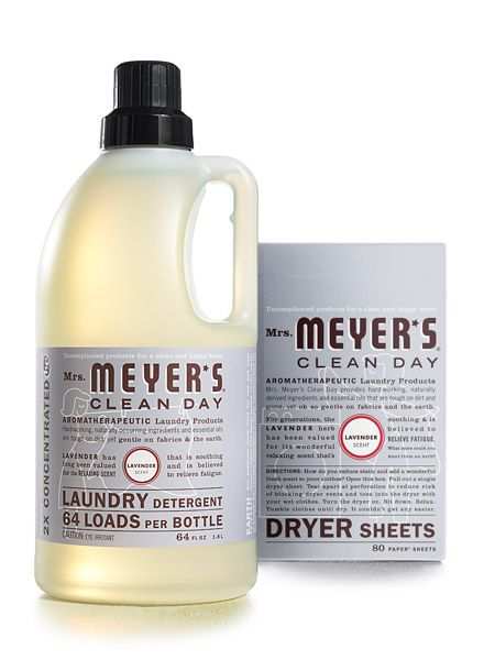 Lavender Laundry Set From Mrs Meyer S Clean Day Lavender Laundry Laundry Detergent Cleaning Day