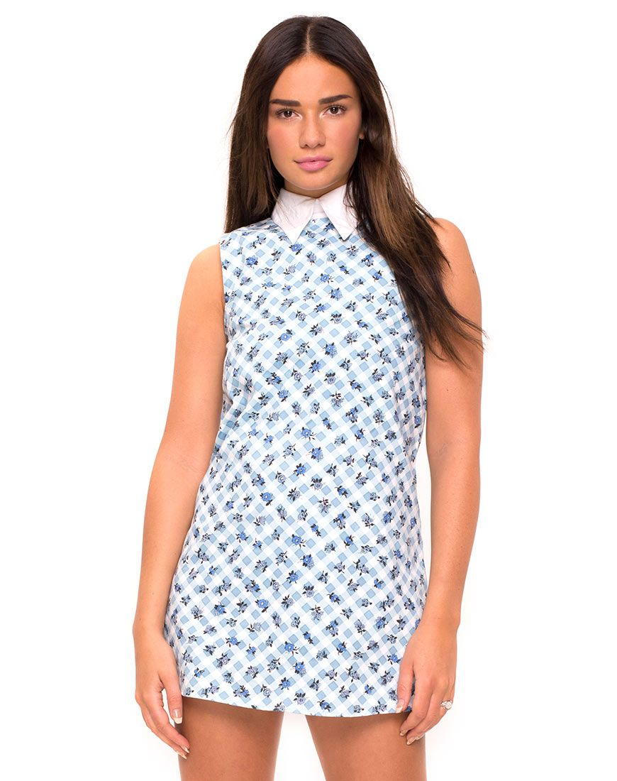 Get that sweet s style in this ultra cute shift dress in a dreamy